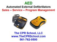 Florida Yacht AED Sales and Service